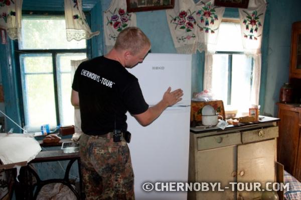 Холодильник для самосёлки из Парышева